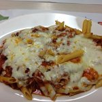 Baked ziti with meat