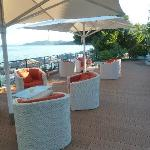Hotel Dafni - Garden seating area