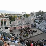 Enjoy a concert at an ancient theatre!