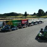 Karts ready for action