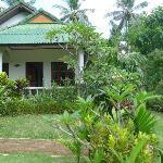 Un des bungalows de l'hôtel