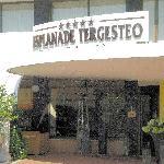 Hoteleingang Tegesteo