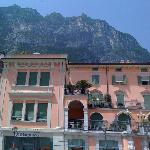 the square Rive Del Garda