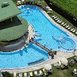 Beheizter Außenbereich Thermalschwimmbad