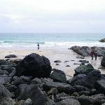Little wild beach