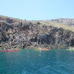 Sea kayak- good day out in Milos