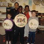 Bodhran for Obama family