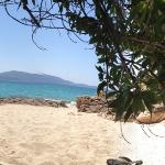 Une planque sur la plage…