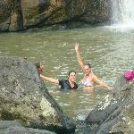 In waterfall