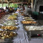Creole Sunday buffet