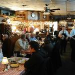 Freddie's Restaurante inside
