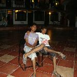 Hotel Ambassador Upstairs Varandha
