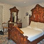 Bedroom where stepmother was killed