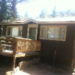 Our cabin for the stay