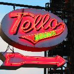 Tello's famouns neon sign