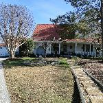 Front of main house during the Fall