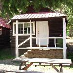 outside of cabin 11