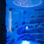 SPA snow cabin