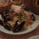 Pasta and the freshest seafood...is there anything better?