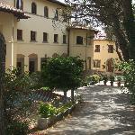 front of Casa Betania, Cortona
