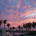 Coucher de soleil au Club Med