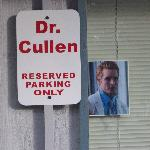 Dr. Cullen parking only ;)