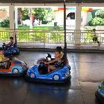 little kid bumper cars