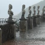 Villa Cimbrone - Terrace of Infinity in the Rain