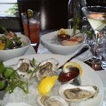 Fresh Seafood Appetizers at Front Porch Restaurant