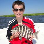 Sheepshead caught with Captain Will!