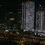 Vista Nocturna desde la Habitacion