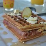 Apple waffel