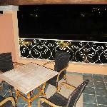 Terrasse am Superior Zimmer