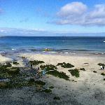 Beach - five minutes walk.