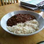 Veg curry - very tasty.