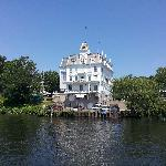 Goodspeed Opera House from the river