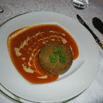Foie Gras in Tomato Sauce