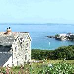 Penmarth House overlooking Coverack harbour