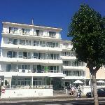 Fron ot the Hotel