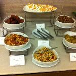 breakfast - congee condiments