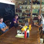 Family dining in Calf-A