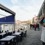 vista dos canais de Murano