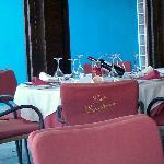 Nice table setting.
