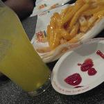 Fries and Goombay Punch