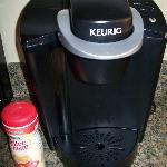 a Keurig coffe maker!