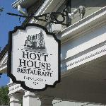 Hoyt House Sign