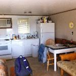 Kitchen area from the door