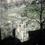 Looking down into the Roman Theater