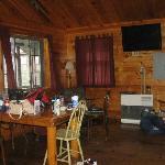 inside dreamland cabin...
