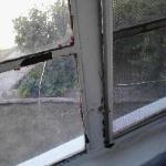 could not open the window, stuck